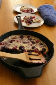 plated-clafoutis